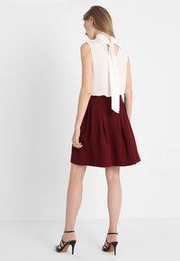 mint&berry - A-line skirt - bordeaux - 2