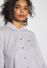 Lacoste - Button-down blouse - silver chine - 4