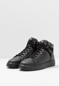 Kurt Geiger London - JACOBS TOP STUD - Sneakersy wysokie - black - 2