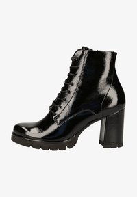 Paul Green - STIEFELETTE - Lace-up ankle boots - schwarz - 0