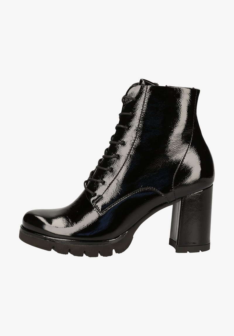 Paul Green - STIEFELETTE - Lace-up ankle boots - schwarz