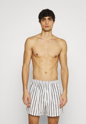 3 PACK - Boxershorts - black/dark grey/white