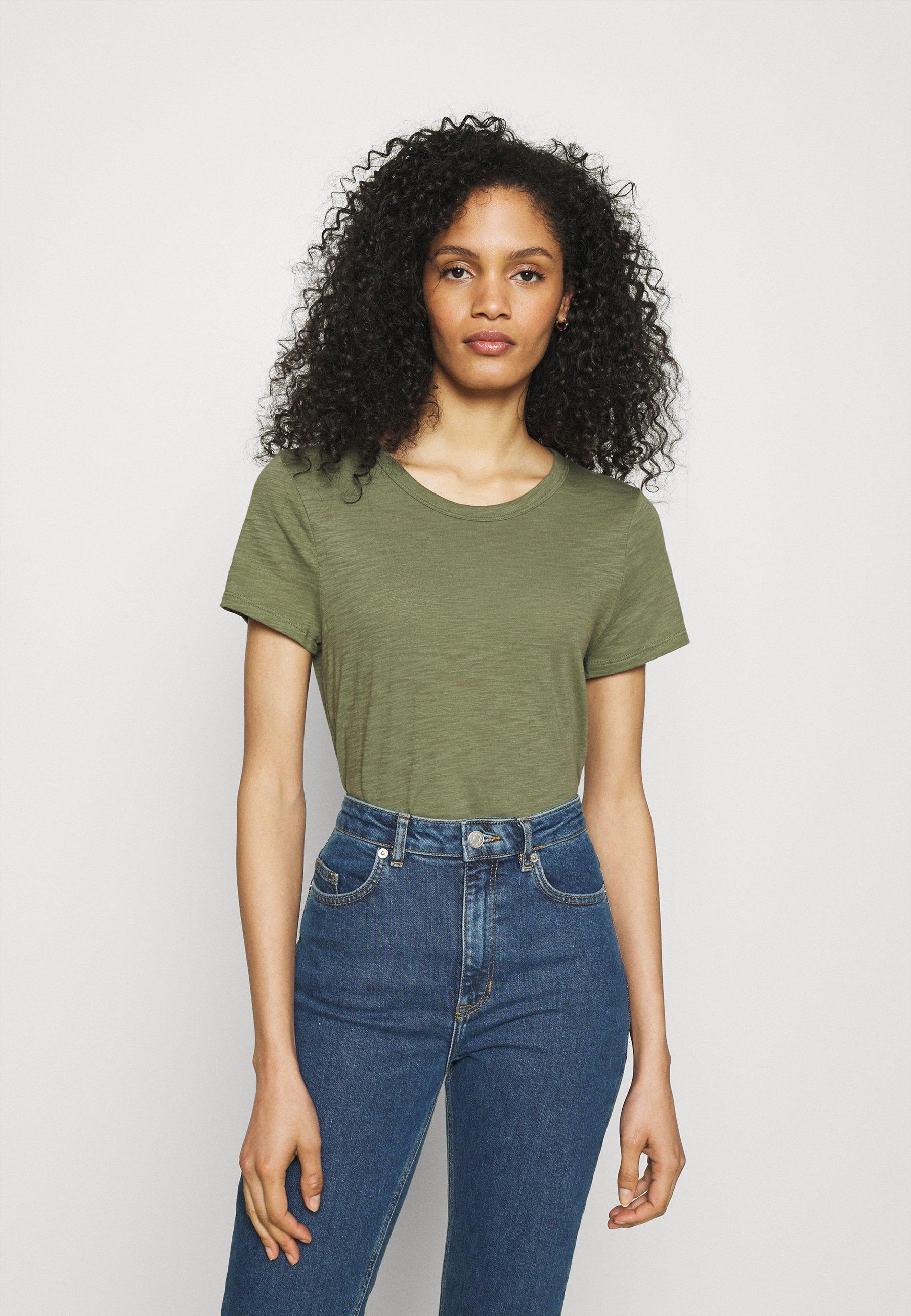 Women COZY SLUB TEE - Basic T-shirt