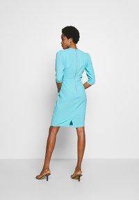 Closet - PUFF SLEEVE TULIP DRESS - Day dress - blue - 2
