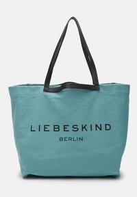 Liebeskind Berlin - AURORA SHOPPER L SHOPPER AUS CANVAS - Tote bag - liquid blue - 5
