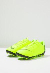 Nike Performance - MERCURIAL VAPOR 12 ACADEMY MG - Moulded stud football boots - volt/black - 3