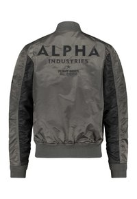 Alpha Industries - BLOUSON CUSTOM - Bomberjacks - anthracite
