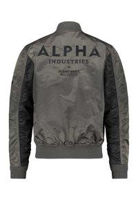 Alpha Industries - CUSTOM - Bomber bunda - anthracite - 1