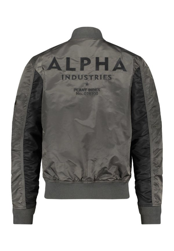 Alpha Industries BLOUSON CUSTOM - Kurtka Bomber - anthracite/antracytowy Odzież Męska FOLS