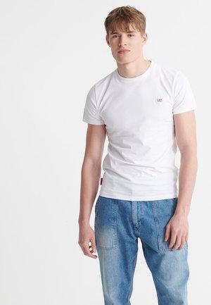 SUPERDRY ORGANIC COTTON COLLECTIVE T-SHIRT - Basic T-shirt - optic