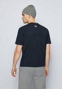 BOSS - Print T-shirt - dark blue - 2