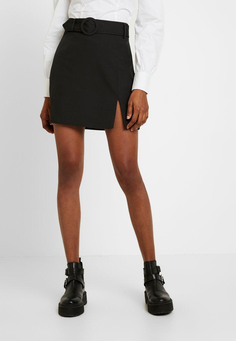 Fashion Union - SMITH - A-Linien-Rock - black