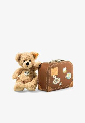 TEDDYBÄR FYNN MIT KOFFER - Cuddly toy - beige