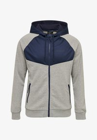 Hummel - Zip-up hoodie - mottled grey - 0