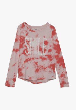 GIRL - Camiseta de manga larga - fresh coral
