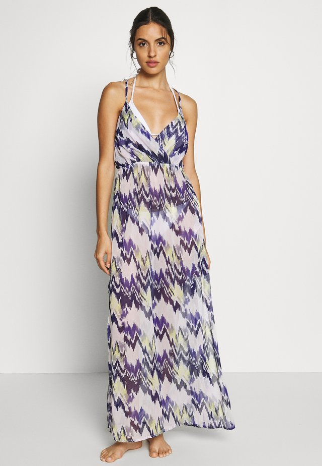ZIG ZAG MAXI DRESS - Beach accessory - multi