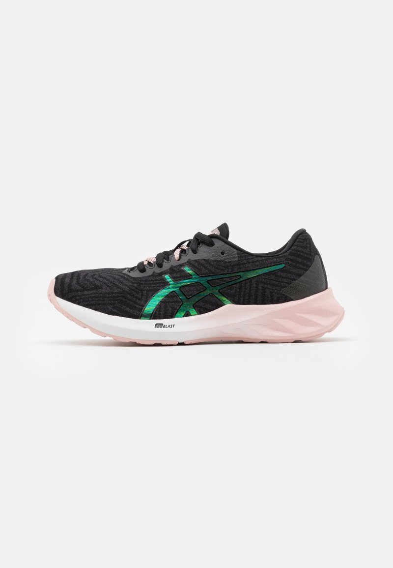 ASICS - ROADBLAST THE NEW STRONG - Zapatillas de running neutras - graphite grey/ginger peach