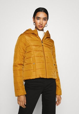 VMSIMONE HOODY SHORT JACKET - Light jacket - buckthorn brown