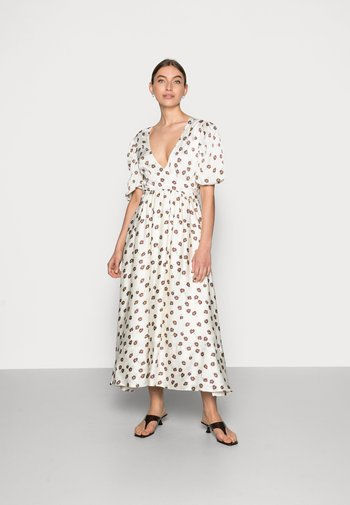 LOLA DRESS - Korte jurk - off-white