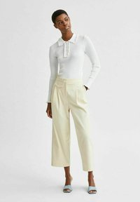 Selected Femme - Stoffhose - birch - 1
