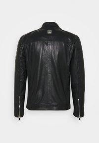 Freaky Nation - SHEEP CHARLY ACTION - Leather jacket - black - 9