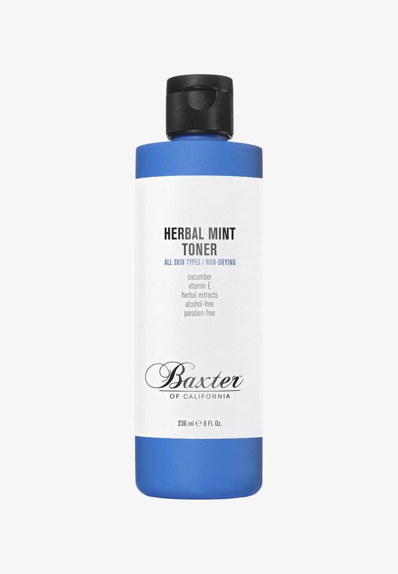 Baxter of California - HERBAL MINT TONER 236ML - Tonico viso - blue