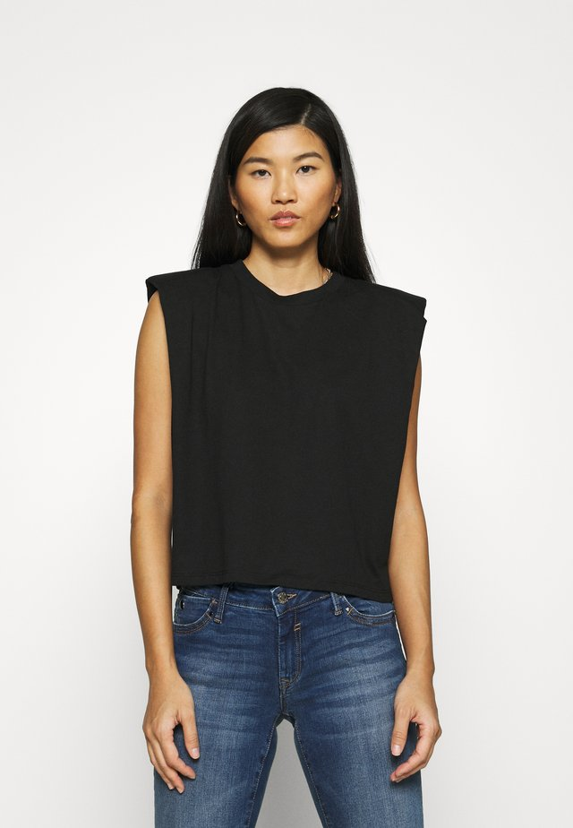 SLEEVELESS - Camiseta básica - black
