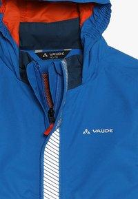 Vaude - KIDS LUMINUM JACKET - Waterproof jacket - radiate blue - 5