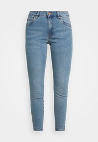 Cotton On - MID RISE CROPPED - Jeans Skinny Fit - jetty blue - 3