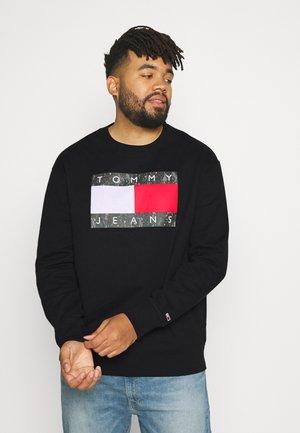 CAMO FLAG CREW - Sweatshirt - black