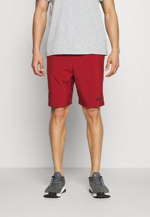 FLEX SHORT - Sports shorts - dark cayenne/black