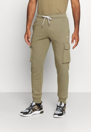 CUFF PANTS - Pantalones deportivos - khaki