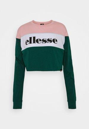 REPTANS - Sweatshirt - pink/teal