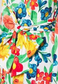 Glamorous - LONG SLEEVE WRAP MIDI DRESS - Maxi dress - large bright - 5