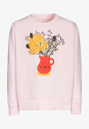 FLOWERS  - Felpa - pink/ yellow