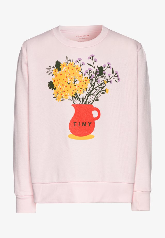 FLOWERS  - Sweatshirt - pink/ yellow
