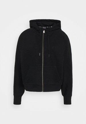 ESSENTIALS ZIP THROUGH HOODY  - Zip-up sweatshirt - black