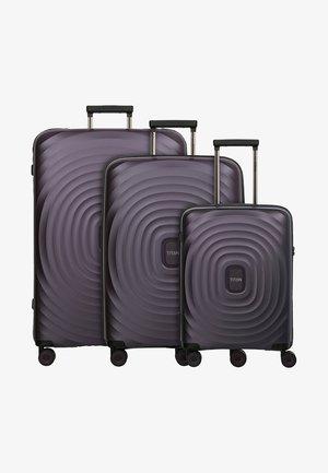 3SET - Luggage set - purple