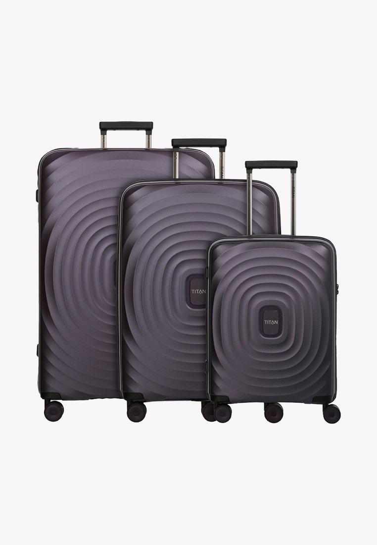 Titan - 3SET - Luggage set - purple