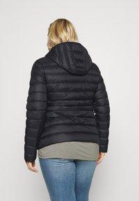 Even&Odd Curvy - Down jacket - black - 2
