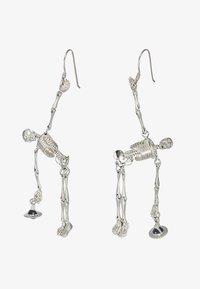 Vivienne Westwood - SKELETON EARRINGS - Earrings - palladium - 4
