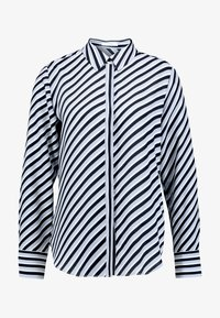 Opus - FASTINE DIAGONAL  - Button-down blouse - just blue - 3