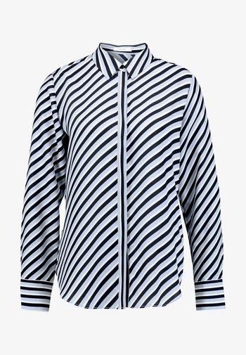 FASTINE DIAGONAL  - Button-down blouse - just blue