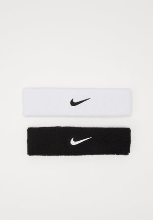 HEADBAND 2 PACK UNISEX - Other accessories - black/white