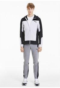 """Puma - PUMA HERREN SWEATSHIRTJACKE """"EVOSTRIPE"""" - Zip-up hoodie - white - 1"""