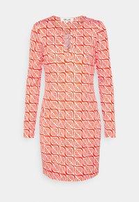 Diane von Furstenberg - REINA DRESS - Jersey dress - red - 3