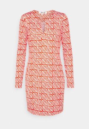 REINA DRESS - Jersey dress - red