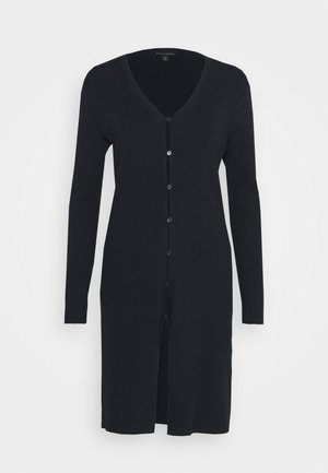 BUTTON FRONT DUSTER  - Cardigan - preppy navy