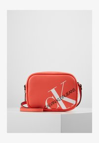 Calvin Klein Jeans - CAMERA BAG - Across body bag - orange - 1