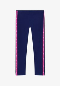Nike Sportswear - AIR FAVORITES - Leggings - Trousers - blue void/fire pink/(fire pink) - 2